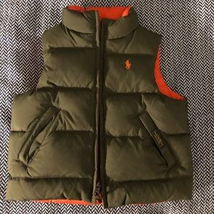 Toddler Ralph Lauren Reversible Vest